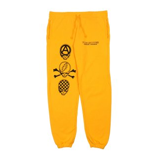 DEAD CREW PREMIUM SWEAT PANTS / Mustard