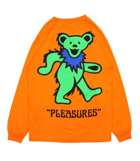 BEAR LONG SLEEVE T-SHIRT / Orange