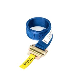 JACQUARD TAPE BELT / Blue / White