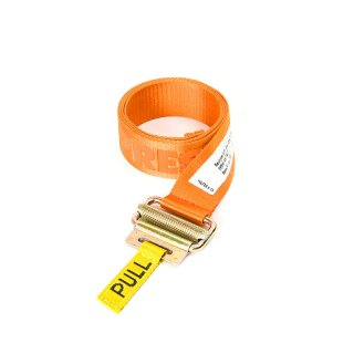 JACQUARD TAPE BELT / Orange / White