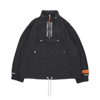СТИЛЬ TURTLENECK WIND BREAKER / Back / White