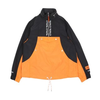 СТИЛЬ TURTLENECK WIND BREAKER / Orange / White
