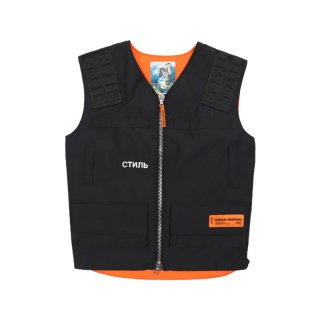 СТИЛЬ MULTIPOCKETS VEST / Black / White