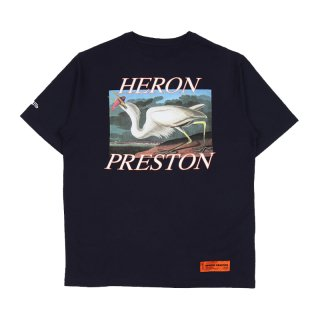 WHITE HERON JERSEY T-SHIRT SS / Dark Blue