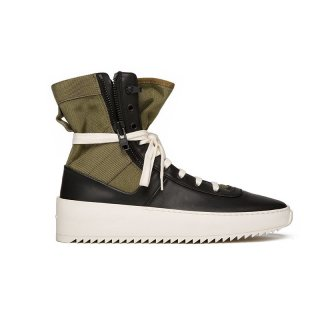 JUNGLE SNEAKER / BLACK/FOLIAGE