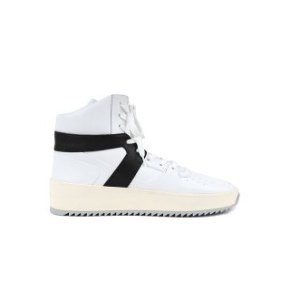 BASKETBALL SNEAKER / White/Black