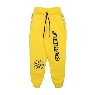 OFF SWEATPANTS / YELLOW BLACK