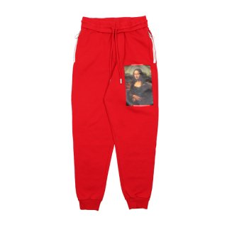 MONALISA SWEATPANTS / RED MULTICOLOR