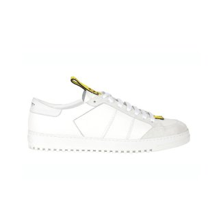 BELT SNEAKER / White/Yellow