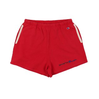 CHAMPION SHORTS / Red/Black