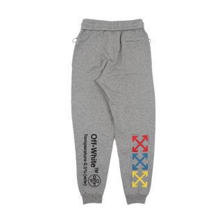 SYRINGE SWEATPANTS / MEL GREY MULTIC