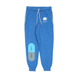 SAFETY SWEATPANTS / Blue Multicolor