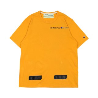 CHAMPION TEE / Yellow/Black