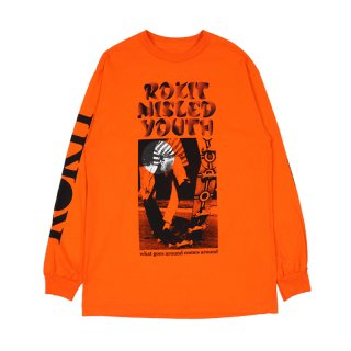 GROOVE LONG SLEEVE TEE / Orange