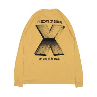 POWER LONG SLEEVE TEE / Yellow