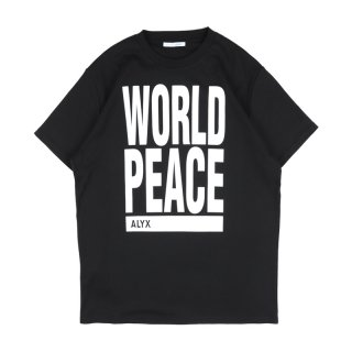 WORLD PEACE S/S / Black