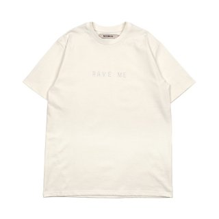 RAVE ME Crystals Tee / White