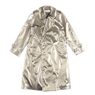 FANTASY Technical Trench Coat / Silver