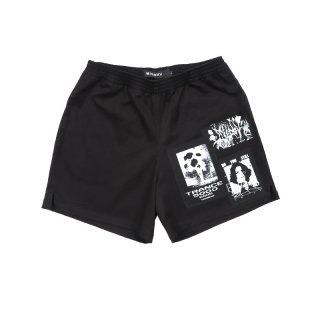 Multi-patch Shorts / Black