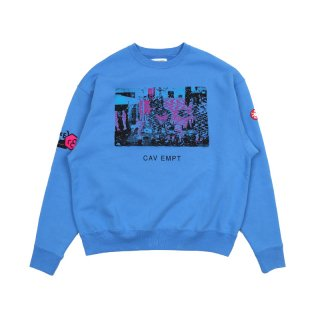 CARD 17 CREW NECK / Blue