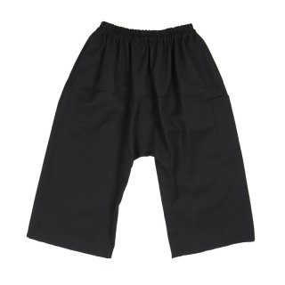 Short pants with elastic / Black