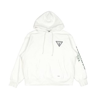 ONEPOINT LOGO HOODIE / White