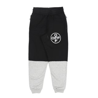 CROSS OFF SWEATPANTS / MULTICOLOR WHITE
