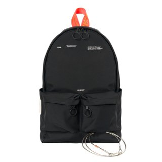 TAPE BACKPACK / Black