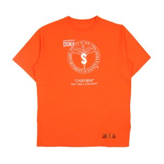 DSNY JERSEY T-SHIRT S/S / Orange/White