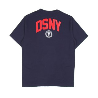 DSNY JERSEY T-SHIRT S/S / Dark Blue/White