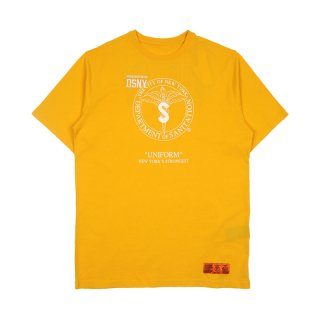 DSNY JERSEY T-SHIRT S/S / Yellow/White