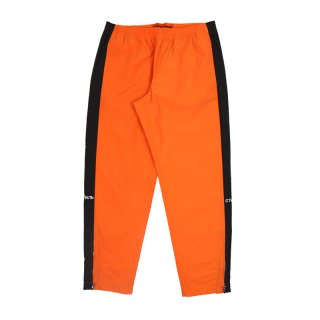 CTNMB SIDE STRIPE LOOSE PANTS / Orange/White