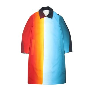 GRADIENT RAGLAN COAT