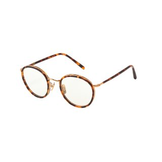 EVANS 02 / Havana Brown / Gold