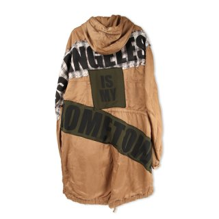 Patch Tail Parka