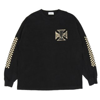 RHUDE BOYS LONG SLEEVES TEE