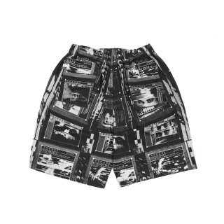 FRAME PRINTED SHORTS