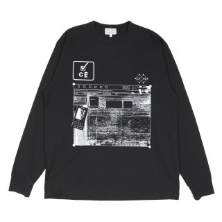CE CARD 5 LONG SLEEVE TEE