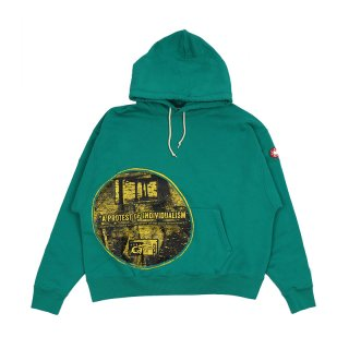INDIVISUAL HEAVY HOODY / Green