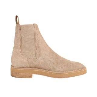 Chelsea Boot In Thick Shaggy Suede