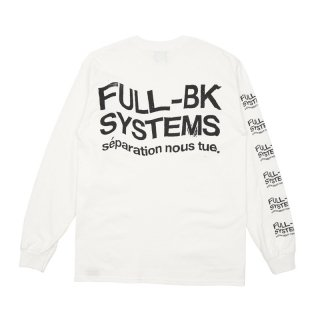 SYSTEMS STAMP LOGO L/S TEE