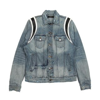 Varsity Denim Trucker