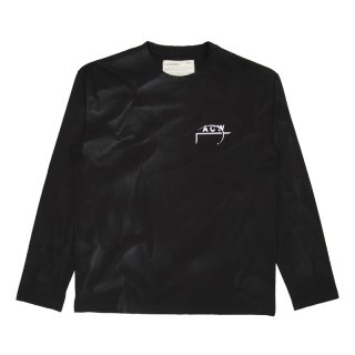 PAINT FLICKERED LOGO L/S TEE