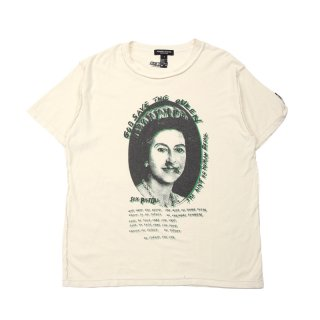 SEX PISTOLS SAVE THE QUEEN T-SHIRT/ V.WHITE