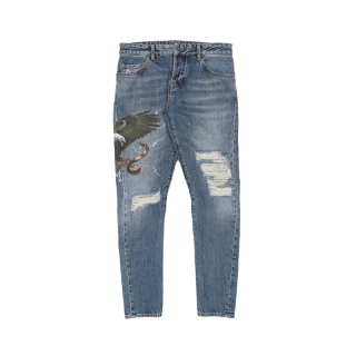 VINTAGE WASH ANTIFIT JEANS
