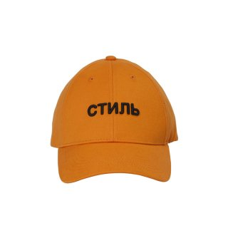 СТИЛЬ TWILL  CAP  ORANGE BLACK