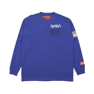 NASA  HEAVY  JERSEY   L/S  T-SHIRT