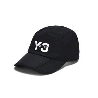 Y-3 FOLDABLE  CAP  BLACK
