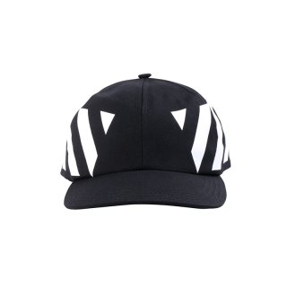 BLACK DIAGONALS CAP