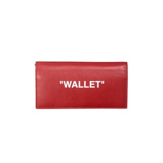 RED QUOTE WALLET